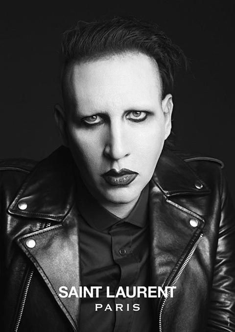Bfw Marilyn Manson The New Face Of Saint Laurent