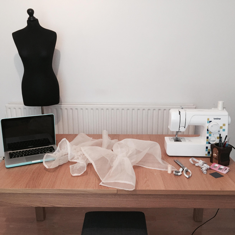 Rhiannon Hunt work space